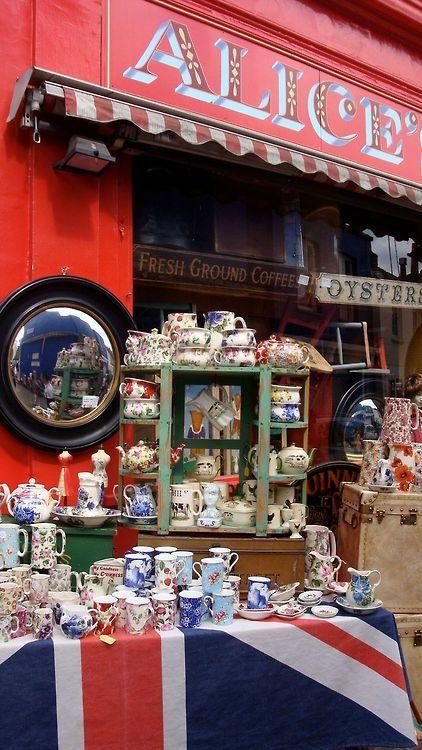London [Notting Hill - Portobello Market]