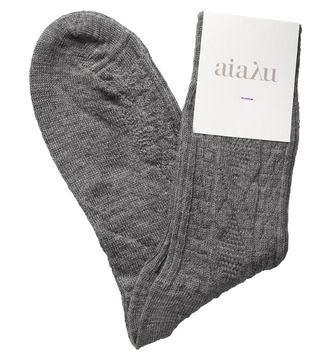 Aiayu luksus strømper i uld og silke fra riverandraven.com.