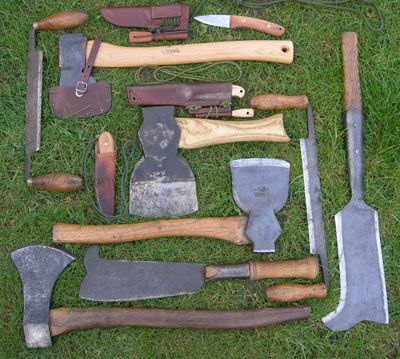Green woodworking tools