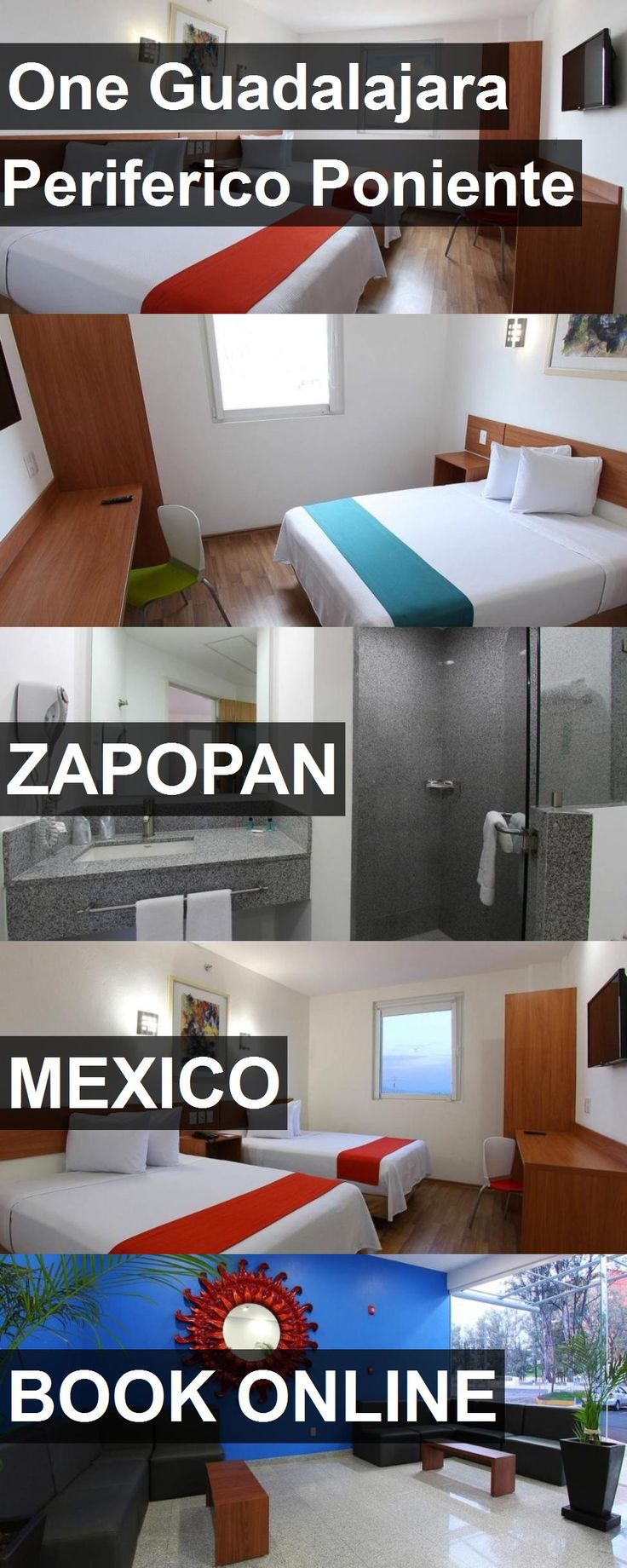 Hotel One Guadalajara Periferico Poniente in Zapopan, Mexico. For more information, photos, reviews and best prices please follow the link. #Mexico #Zapopan #travel #vacation #hotel