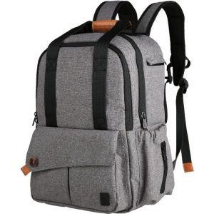 Best Diaper Bags For Dads: Ferlin Multi-function Backpack -Reviews by OhanaMom.com