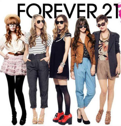 Forever 21, la tienda americana que causa furor, en París | DolceCity.com