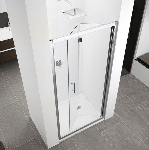 Novellini Zephyros S foldedør M/Hengsler (86-92 cm) Døråpning 67cm For nisje eller sidefastfelt. Vendbar 6mm herdet sikkerhetsglass Høyde 195 cm Alle oppgitte størrelser på dusjvegg er monteringsmål