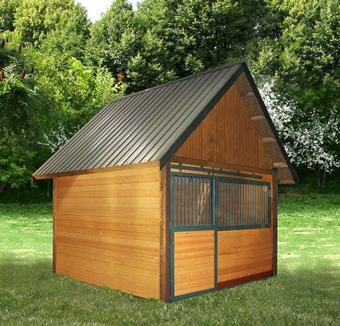 17 best images about small horse barn on pinterest for 2 stall horse barn kits