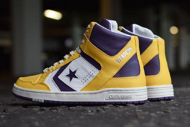 "Converse Weapon ""Los Angeles Lakers"" - EU Kicks: Sneaker Magazine"
