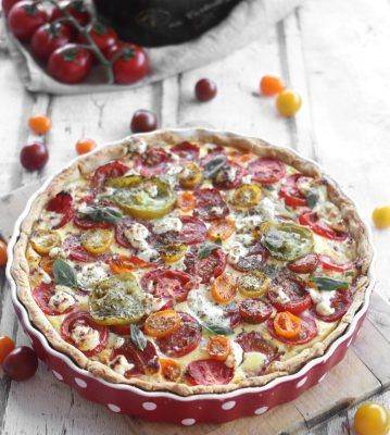Tarte aux tomates colorees72