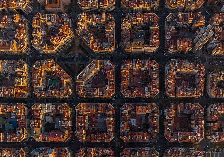 Vista de Barcelona, Espanha