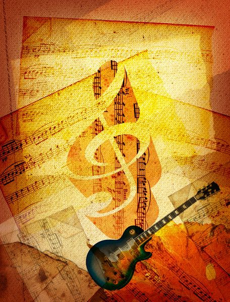 Sheet Music ~ Art by Billy Frank Alexander I really love the light effects in this piece