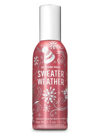 Sweater Weather Concentrated Room Spray In 2019 Bath And Body