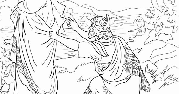 David Spares Saul Coloring Page Unique King Saul Coloring Pages
