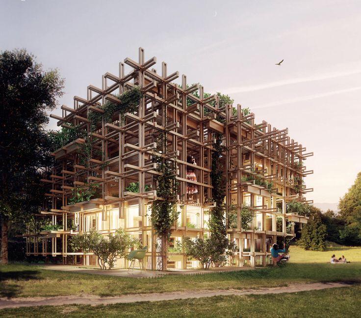 Gardenhouse Concept by Chris Precht of Penda