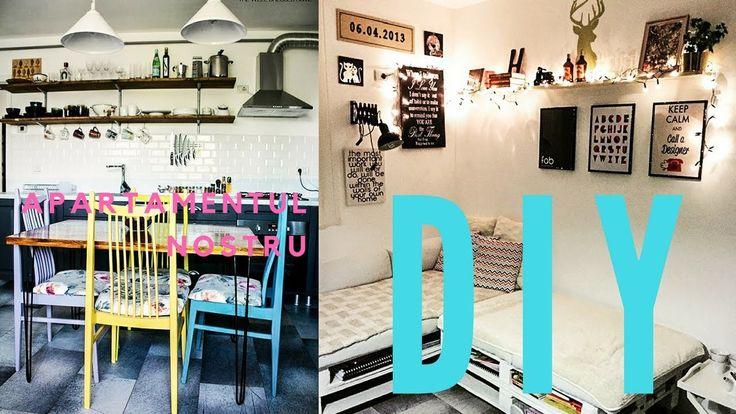 Apartamentul nostru DIY - Mr. House Apartamentul nostru DIY - Mr. House  V-am spus că evoluăm mereu, de aceea am lucrat la un nou format de prezentare a activității noastre, lansăm primul video despre amenajarea unui apartament din Iași! Mr. House este aici mereu pentru tine! Enjoy!  Mr. House va prezinta:   Nume: George si Brigitta Augustin  Locatie: Iasi, Romania  Suprafata: 56 m2  Locuit din: decembrie 2014    Mr. House va prezinta un apartament de 56 mp cu doua camere, baie si bucatarie…