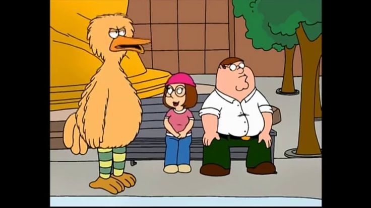"""Family Guy - """"Those are just my bird calls"""""""