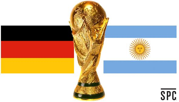 FIFA WORLD CUP FINAL: GERMANY VS. ARGENTINA