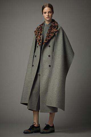 Valentino Pre-Fall 2014, oversize coat