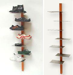 The 25+ best Vertical shoe rack ideas on Pinterest | Closet built ...