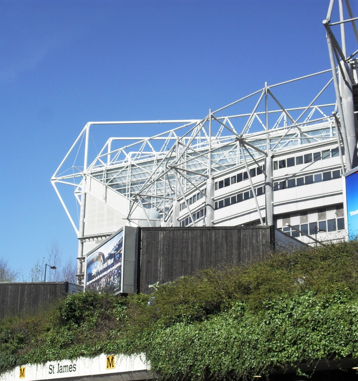 St. James Park - The Cathedral of North East Football and home of Newcastle United