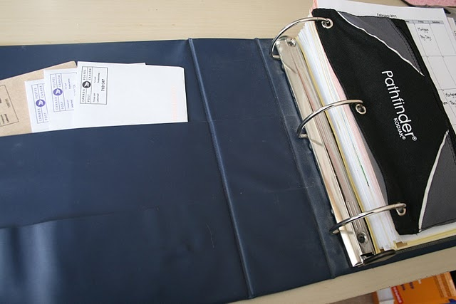 Binder method bill pay with no filing involved