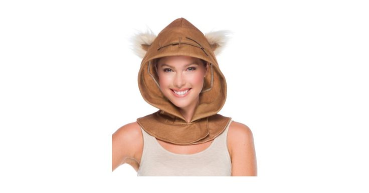 I found great Halloween Costumes on BuyCostumes.com. Star Wars Ewok Adult Hood, Click here to find more unique Costume ideas! Life's better in costume.