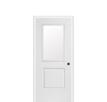 Masonite Steel Mhd 106 010 1 Hd Panel Door Half Lite With
