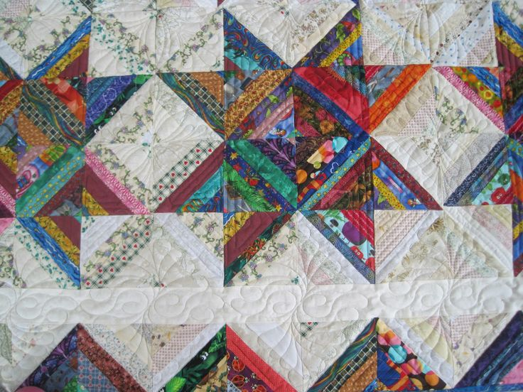 Finely Finished Quilts: My Scrap Quilts on Pinterest Discover the best trending Crazy Quilting ...
