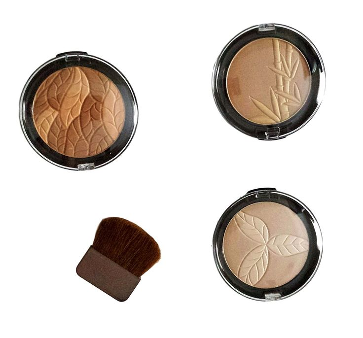 Physicians Formula Bronze Booster Kit with Bamboo Silk Bronzer, Les Botaniques Botanical Bronzer and Organic Wear Natural Bronzer