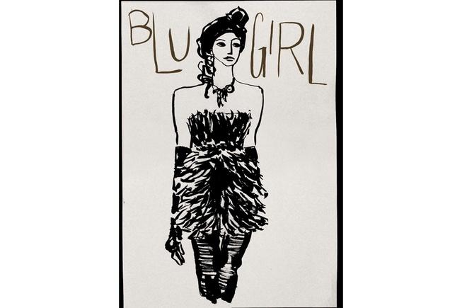 Bustier e guanti lunghi per Blugirl