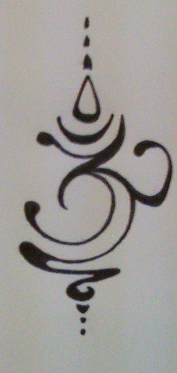love this om symbol..