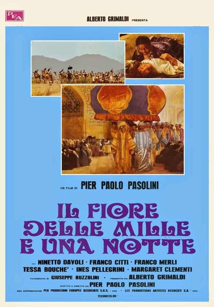 """""""Il fiore delle mille e una notte"""" (1974). Country: Italy. Director: Pier Paolo Pasolini. Cast: Ninetto Davoli, Franco Merli, Ines Pellegrini, Franco Citti, Tessa Bouche"""