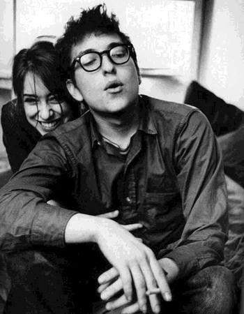 Joan Baez & Bob Dylan.
