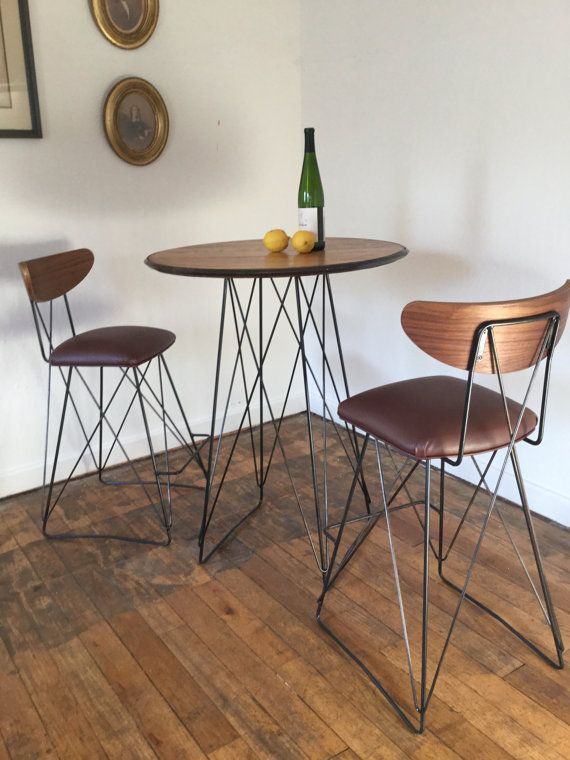 Mid Century Cats Cradle Bar Table Base By RetroEvolutionDesign