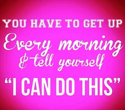 """You have to get up every morning and tell yourself """"I can do this"""" #MotivationMonday #FGCUCampusRec"""