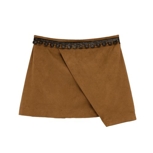 suede skirt from LOL & TONIC