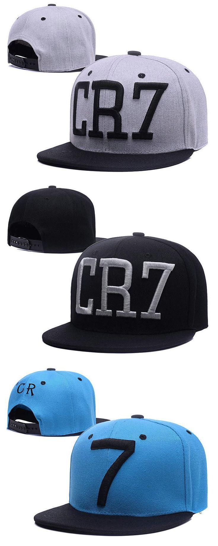 [Visit to Buy] 2016 fashion Cristiano Ronaldo CR7 Baseball Caps hip hop Sports Snapback Football hat chapeu de sol bone Men women coupie hats #Advertisement
