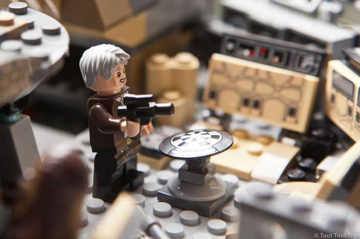 Lego Star Wars Millennium Falcon (75105) Set, inspired from the upcoming Star Wars film 'The Force Awakens'.