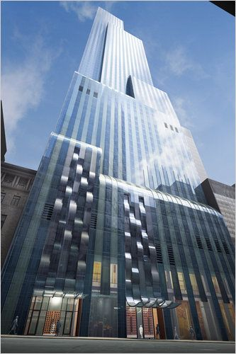 One 57 Tower, NYC, Atelier Christian de Portzamparc