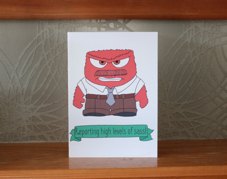 Disney Inside Out card on Etsy