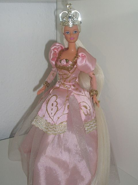 Rapunzel Barbie by What doesnt Kill you makes you Stronger, via Flickr