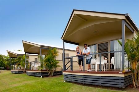 Family Villa at Fraser Lodge Holiday Park