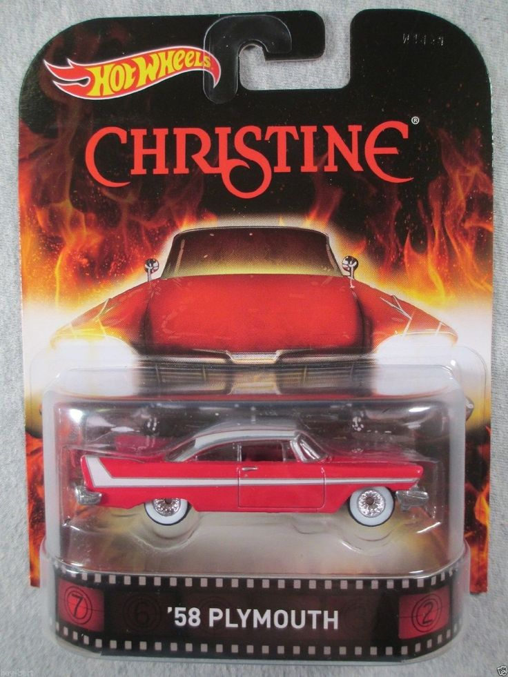 AmazonSmile: Hot Wheels Retro Christine '58 Plymouth Die ...
