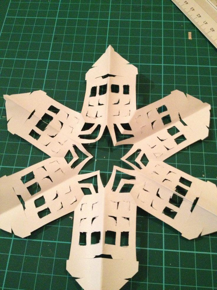 Tardis snowflake