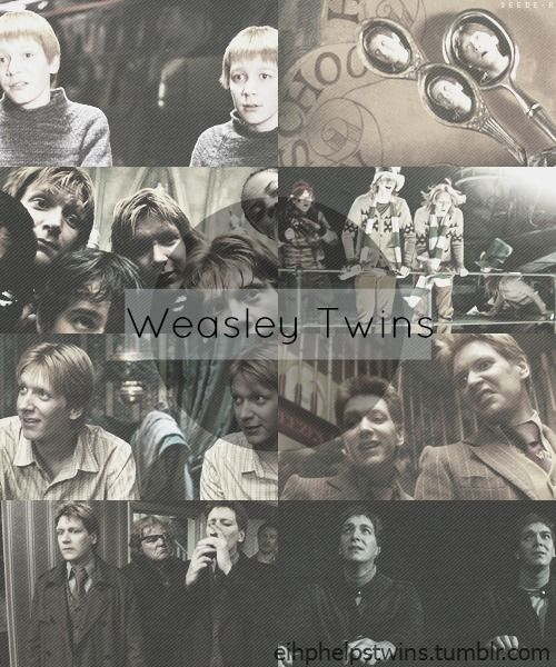 My favorite Characters in Harry Potter.