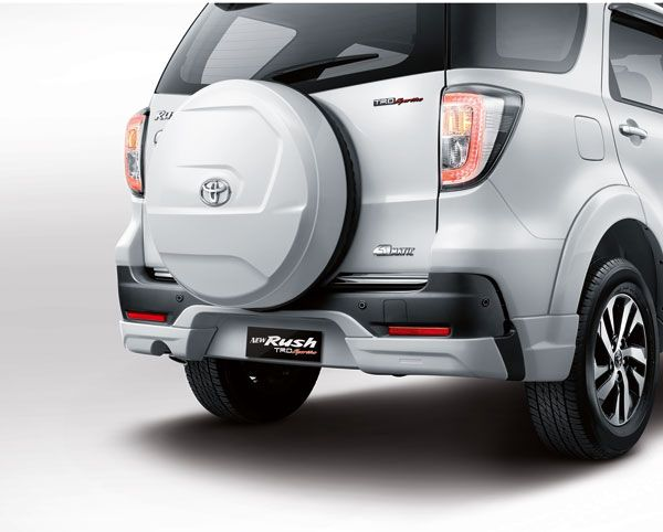 New Rush TRD Sportivo Rear