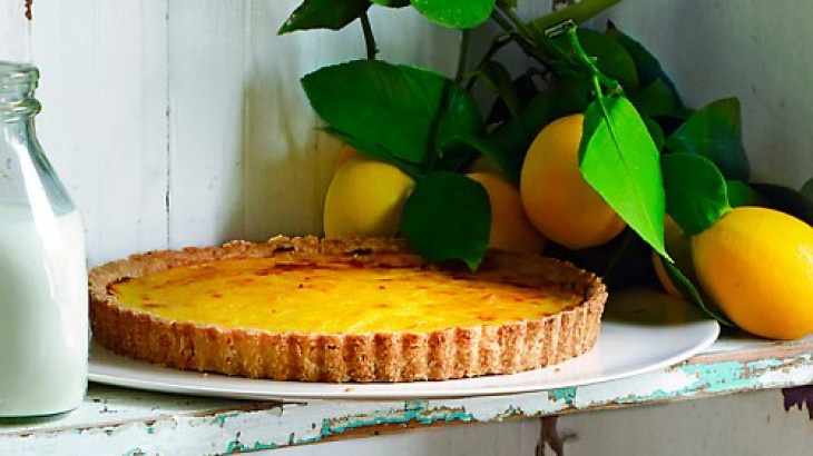Rustic Meyer Lemon Tart | Sweet Treats | Pinterest