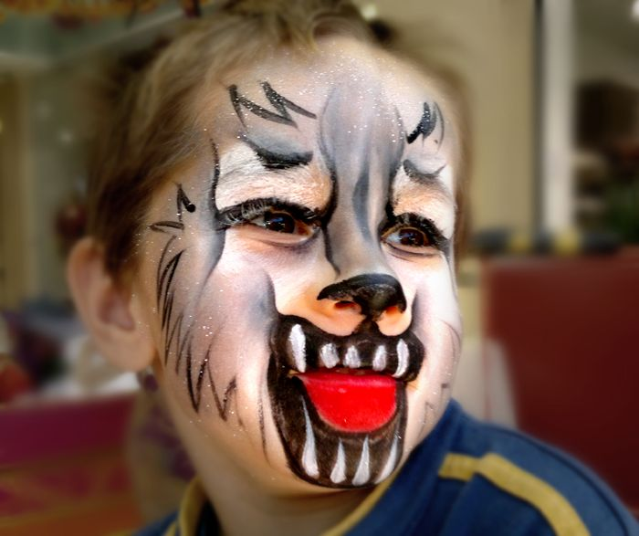 maquillage loup