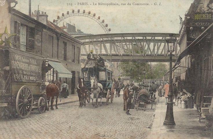 La rue du Commerce d'antan (15ème). 1363684777-carte-postale-ancienne-rue-du-commerce-paris