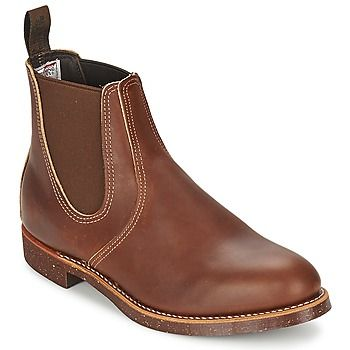 Red Wing Chelsea Ranger boots @rubbersole
