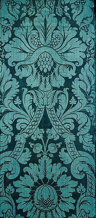 Italian silk, late 17th C.