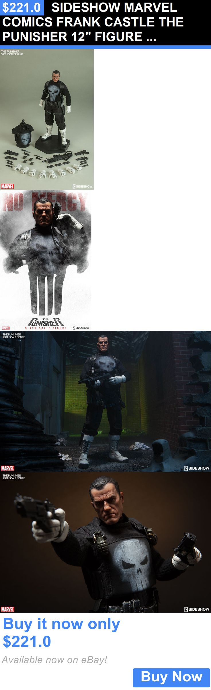 Toys And Games: Sideshow Marvel Comics Frank Castle The Punisher 12 Figure 1/6 Scale Daredevil BUY IT NOW ONLY: $221.0