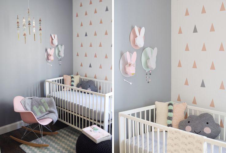 6 combinaisons de couleurs gagnantes pour la chambre de bébé !